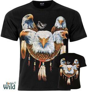 Eagle Dreamcatcher Official Wild T-Shirt UK Stockist M L XL