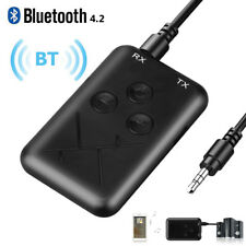 Wireless Bluetooth Transmitter Receiver 3.5mm Stereo Audio Adapter for Amplifier