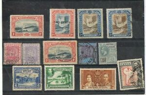 GUIANA - Lot of old stamps