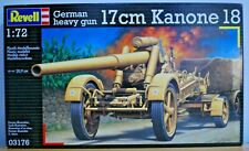 Revell 1:72 German Heavy Gun 17 cm Kanone 18. 03176