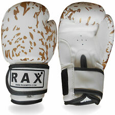 Boxing Gloves Punch Bag Sparring Training Mitts MMA Kick10 12, 14, 16, OZ ,R A X