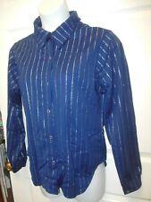 Longsleeve Snapfront Dance shirt Silver stripes child/Men Unisex Colors Costume