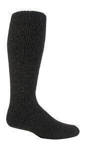Heat Holders - Mens Thick Warm Winter LONG Wool Knee High Thermal Socks, 7-12 US