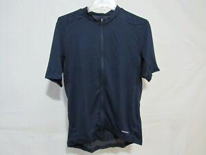 Louis Garneau Lemmon 3 Cycling Jersey Men's Large Dark Night Retail $71.99