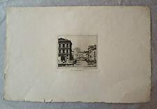 Eau-Forte, Venise, Bénard, original, XIXème