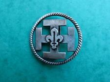 Insigne De Beret Scout a Fleur de Lys