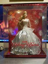 Mattel 2008 Holiday Barbie Doll L9643 20th Anniversary A Christmas Carol