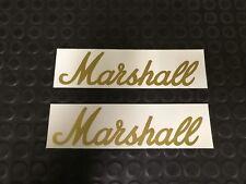 MARSHALL 2PK STICKER DECALS GUITAR AMPLIFIER DJ DECKS