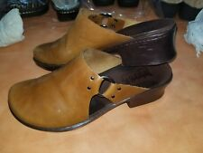 Timberland Women's Smart Comfort Systems Tan leather Mule Clogs Slip-On sz 8 M