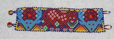 Huichol Beaded Jaguar Bracelet FF-5