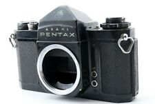 【EXCELLENT+3】Asahi Pentax SV 35mm SLR Film Camera Black Body From JAPAN #99