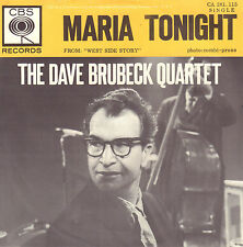 DAVE BRUBECK QUARTET - Maria/Tonight (1962 SINGLE DUTCH PS)