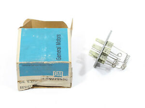 OE 1965 1966 1967 1968 Pontiac Heater Blower Resistor ~ 9779450