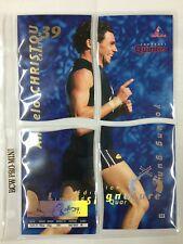 1995 Bewick AFL 4 Quarters Series 2 YOUNG GUN Signature Card Anelo Christou
