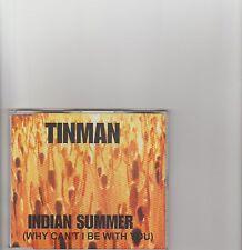 Tinman- Indian Summer UK cd single
