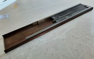 Vintage Letterpress Galley Tray ACE with assorted furniture