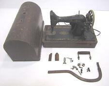 Vtg Portable Lever Electric Singer Bentwood  Sewing Machine Model 99K 1917
