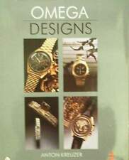 LIVRE/BOOK : OMEGA DESIGNS (montre à bracelet,watch,guide,horloge,vintage