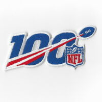 National Football League 100th Iron on Patches Embroidered Patch Badge Sew FN
