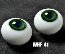 Good 8mm Blue Pupil Dark Green Glass BJD Eyes For barbie OOAK BJD Dollfie