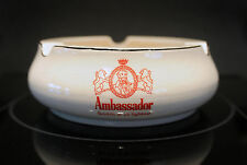 Vintage Antique Ambassador Scotch Ashtray Whisky CANNOT FIND THIS ASHTRAY in RED