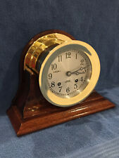 "*Fully Restored* 1974 Chelsea Ships Bell Clock 4 1/2"" Dial Serial #777176"