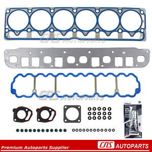 04-06 Jeep Grand Cherokee Wrangler 4.0L Head Gasket Silicone Set Ref # HS26211PT