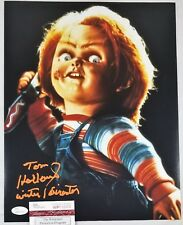 Tom HOLLAND 11x14 Autographed Photo Signed JSA COA 526 Childs Play Chucky