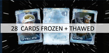 Topps Star Wars Trader TRAPPED IN ICE! SERIES 2 28 CARDS FROZEN + THAWED SET