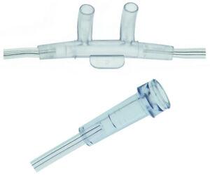 10 x Sauerstoffbrille Sauerstoffbrillen O2- Nasenbrille mit Sicherheitsschlauch