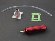 Intake Manifold Power Boost Bottle Fit 2 Stroke 30 - 80 cc Mini Pocket Bike Red
