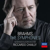 RICCARDO/GOL CHAILLY - BRAHMS: THE SYMPHONIES 3 CD NEW! BRAHMS,JOHANNES