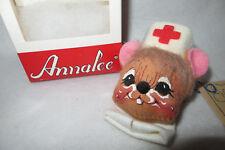 """""""NURSE MOUSE PIN"""" 1991 ANNALEE MOBILITEE 3""""  PIN #99364 - MIB W/TAG"""