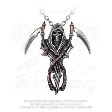 Alchemy - The Reapers Arms - Pewter Pendant