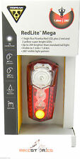 Topeak RedLite Mega TMS047 Red LED Bike Bicycle Cycling Rear / Tail Light