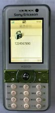 Sony Ericsson K600i White Cell Phone Carrier Unknown Fast Shipping Good Used