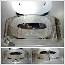 SPACE ROBOT PARTY RAVE COSTUME CYCLOPS FUTURISTIC SHIELD Wrap SUN GLASSES Clear