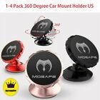 1-4 Pack Universal 360° Magnetic Car Mount Holder Stand Dashboard For Cell Phone