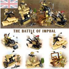 British Force Mini Army Figures World War II Bricks Counter Strike fit lego Gift