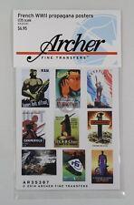 Archer Fine Transfers 1/35 French Propaganda Posters WWII (17 Posters) AR35387