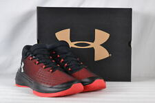 Men's Under Armour Next TB Basketball Shoes Black & Red 11