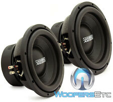 "(2) SUNDOWN AUDIO E-10 V.3 D4 10"" SUBS 500W RMS DUAL 4-OHM SUBWOOFERS SPEAKERS"