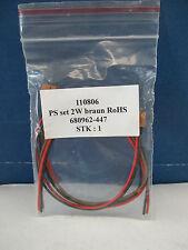 Firma 110806 PS set 2W braun RoHS Platinensteckverbinder siehe Foto  WT3499