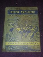 VTG 1943 ACTIVE & ALERT Book 6 Health of Our Nation OLD SCHOOL-View Photos