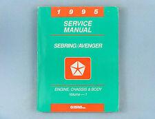 Service Manuals, 1995 Sebring/Avenger, Vol. 1&2, Eng/Chas/Body/Elec, 81-270-5117