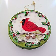 Cardinal bird ornament Collectible Christmas