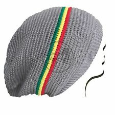 Rasta Dread Dreadlocks Tam Hat Beret 100 Cotton Cap Reggae Marley Jamaica M/l