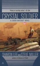 Crystal Soldier by Sharon Lee, Steve Miller PB new