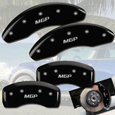 2008-2014 Mini Cooper S Clubman R55 Front + Rear Black MGP Brake Caliper Covers