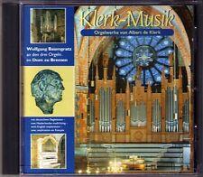 Albert de KLERK: KLERK-MUSIK Organ Orgel BAUMGRATZ CD St. Petri Dom zu Bremen
